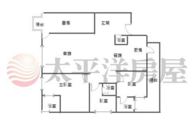 福樺雲朗3車位3房,桃園市龜山區文化三路